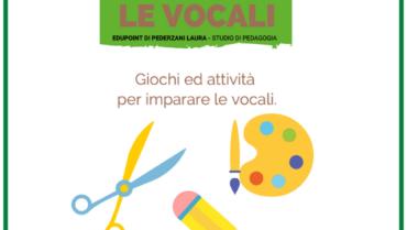 Imparare le vocali